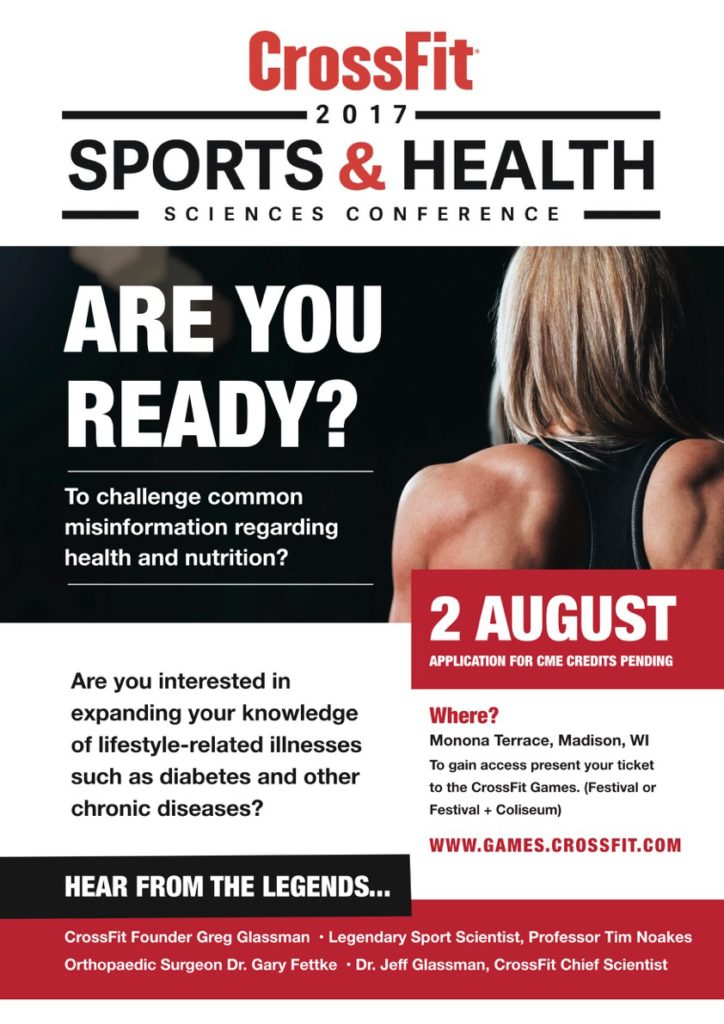 CrossFit Sports and Health Sciences poster